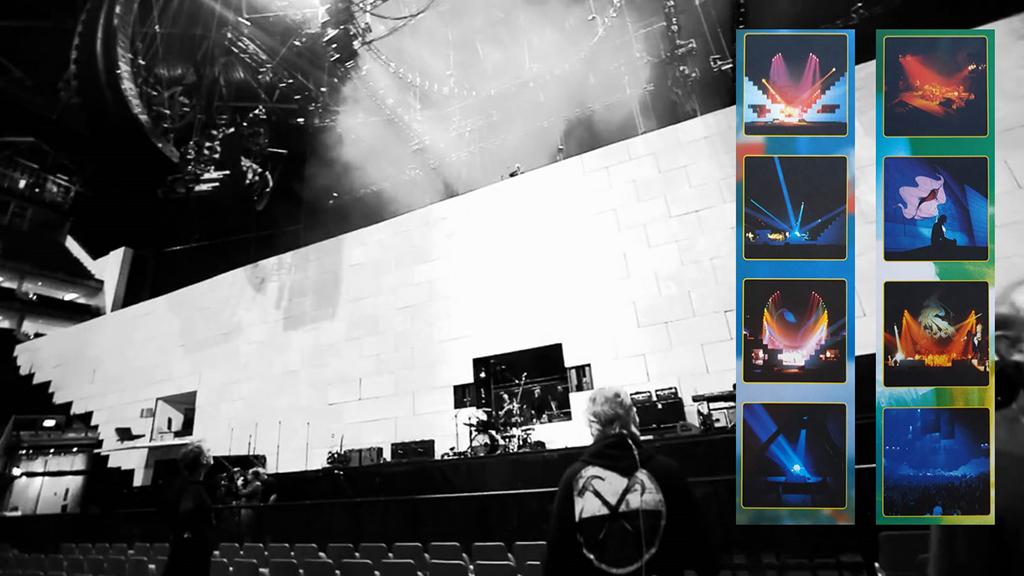 Palco The Wall dos Pink Floyd